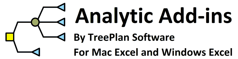 Treeplan Xla File For Mac Excel 2016